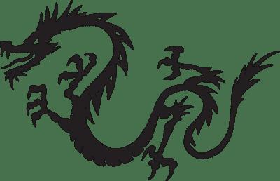 Un dragón cubre la espalda de Lisbeth Salander: La detective hacker que se enfrenta a los criminales más sádicos.