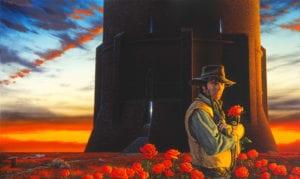 Ilustración sobre La Torre Oscura de King