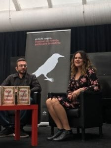 Ana Ballabriga y David Zaplana: Autores de La Paradoja del Bibliotecario Ciego.