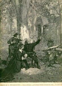 Escena final de Cyrano de Bergerac