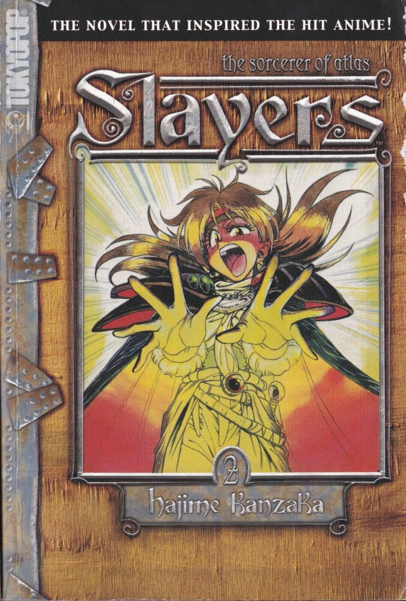 Segundo volumen de Slayers