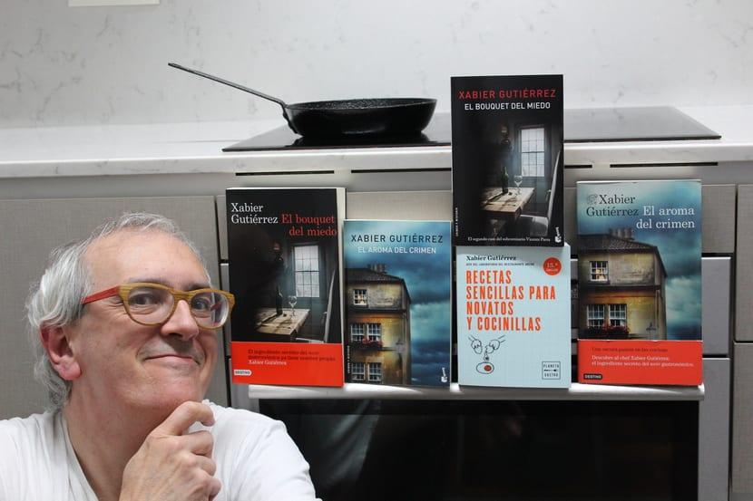 Xabier Gutiérrez: Autor de la tetralogía El Aroma del Crimen.