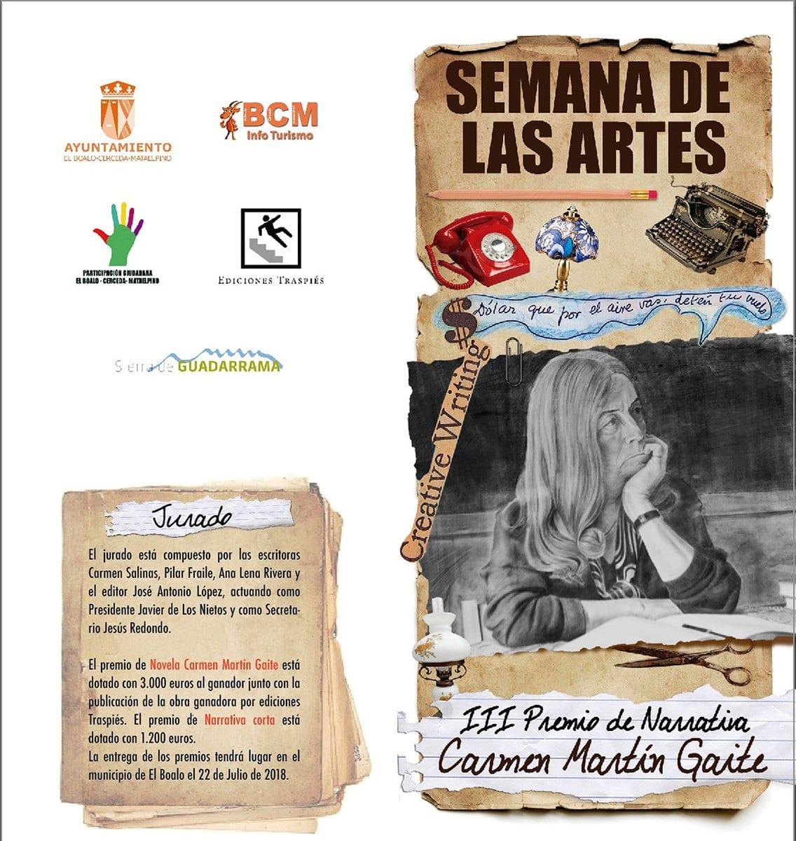 Premio Carmen Martín Gaite 2018.