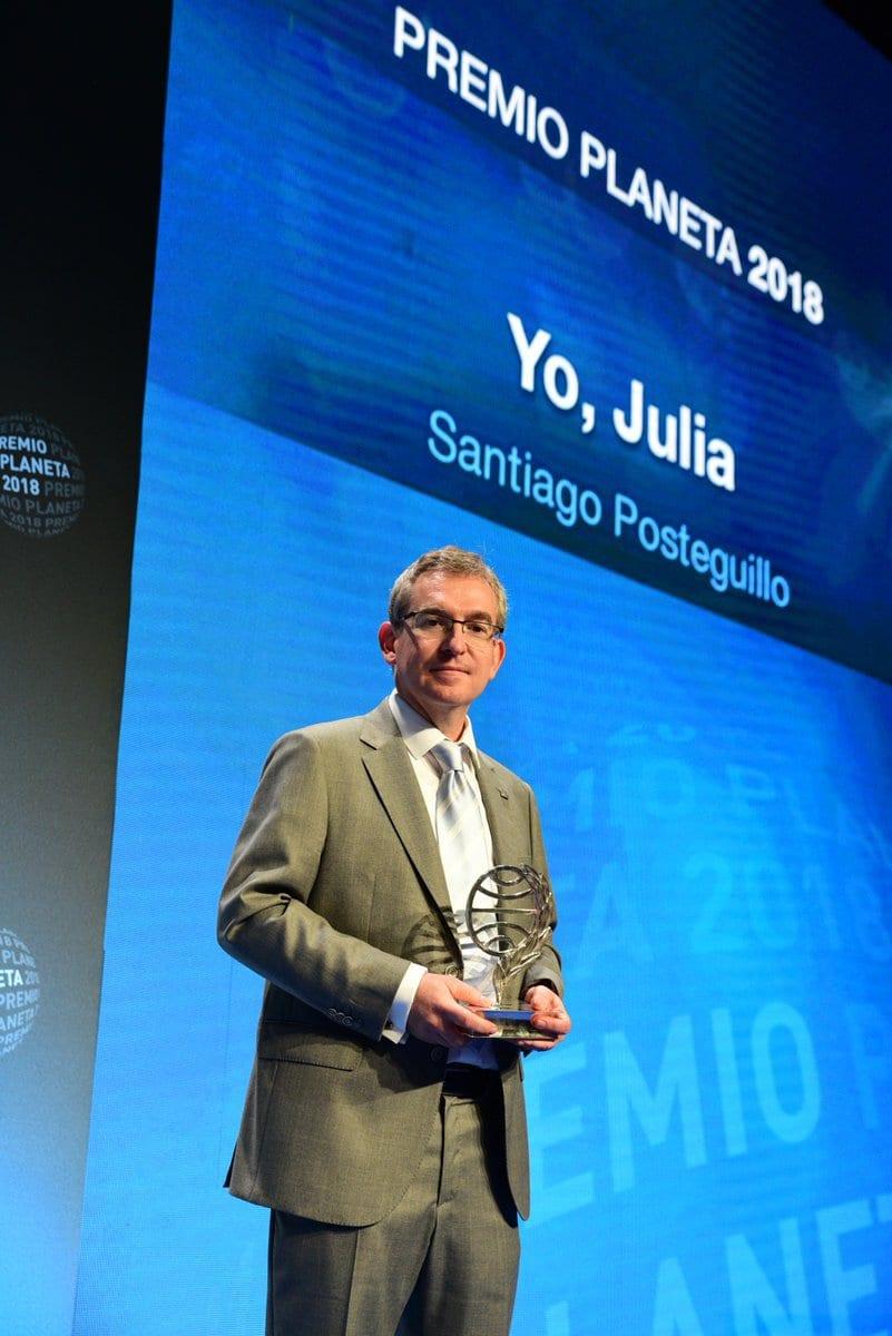 Santiago Posteguillo, ganador del Planeta 2018 con una novela protagonizada por una mujer que decidió el futuro del Imperio Romano.