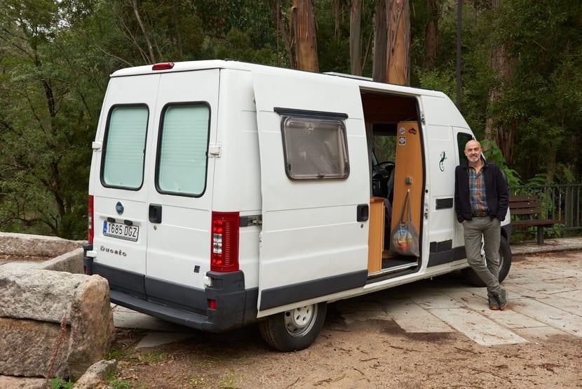 Fran Zabaleta: Un viaje de 80 días en furgoneta al interior de la España más desconocida.