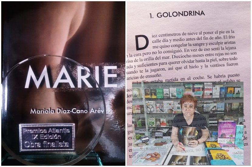 Marie, una novela mezcla de géneros, viaje, negra y erótica, en la Isla de las Letras 2018.