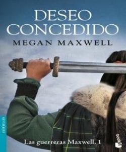 deseo concedido libro saga guerreras maxwell
