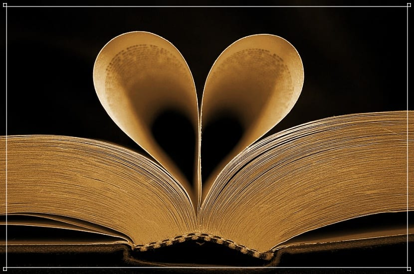 amores literarios de los de antes.
