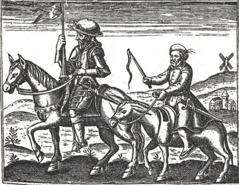 Ilustración de Don Quijote.