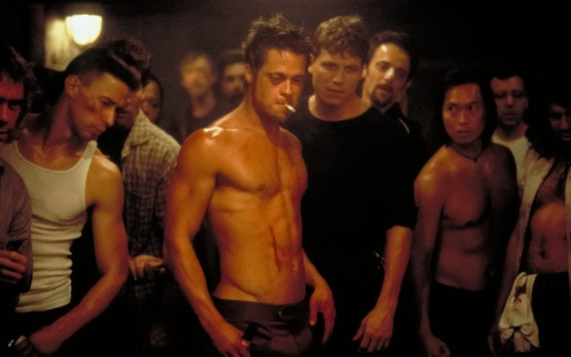 Brad Pitt en Fight Club