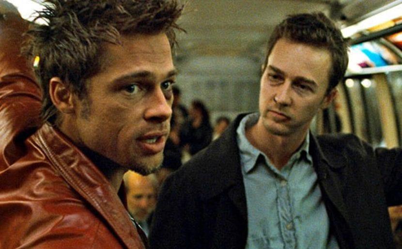 Fotograma de la película El club de la lucha