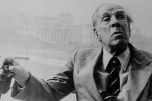 Foto de Jorge Luis Borges.