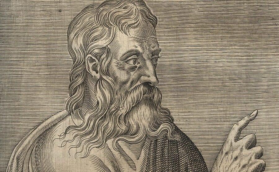 Ilustración de Séneca.
