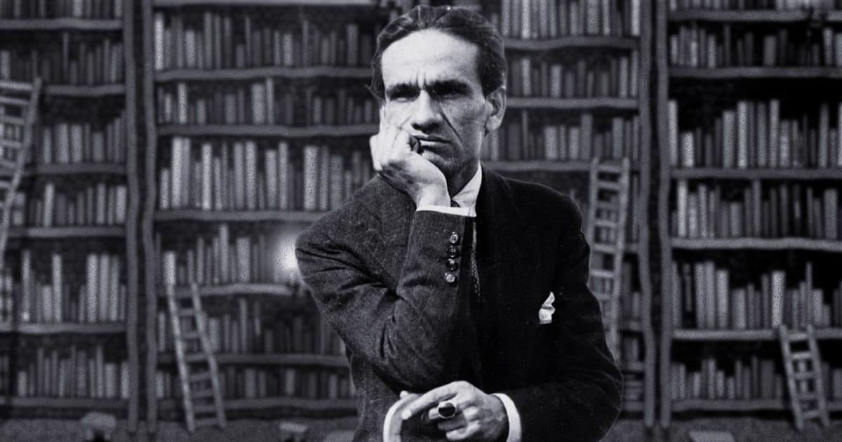 Imagen de escritor César Vallejo.
