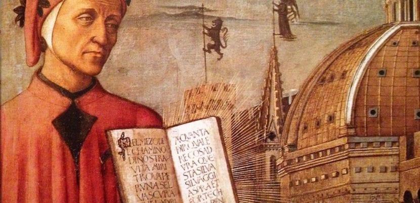 Imagen de Dante Alghieri.