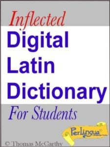 Digital Latin Dictionary For Students.