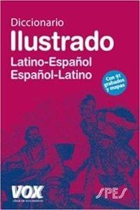 Diccionario ilustrado de latín.