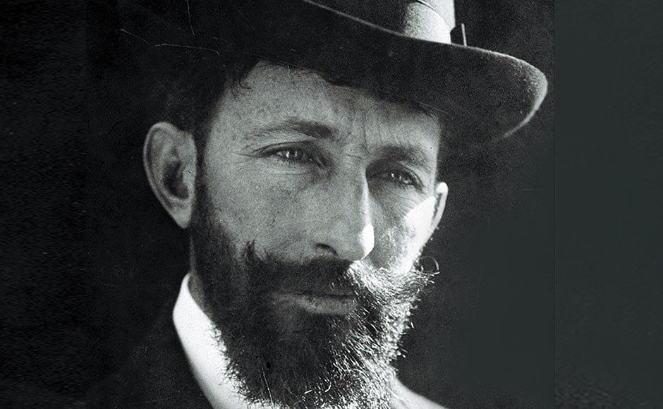 Foto de Horacio Quiroga con sombrero.