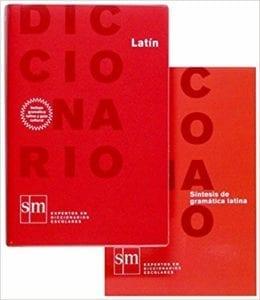 Diccionario didáctico de latín.