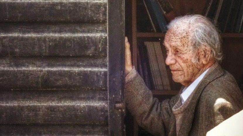 Nicanor Parra, en los últimos días de su vida
