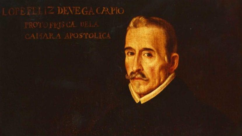 Retrato de Félix Lope de Vega.