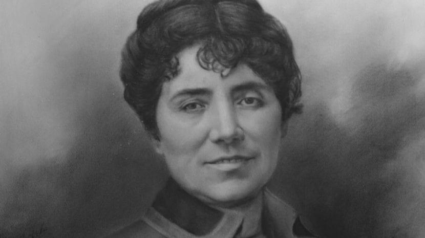 Fotografía de Rosalía de Castro.