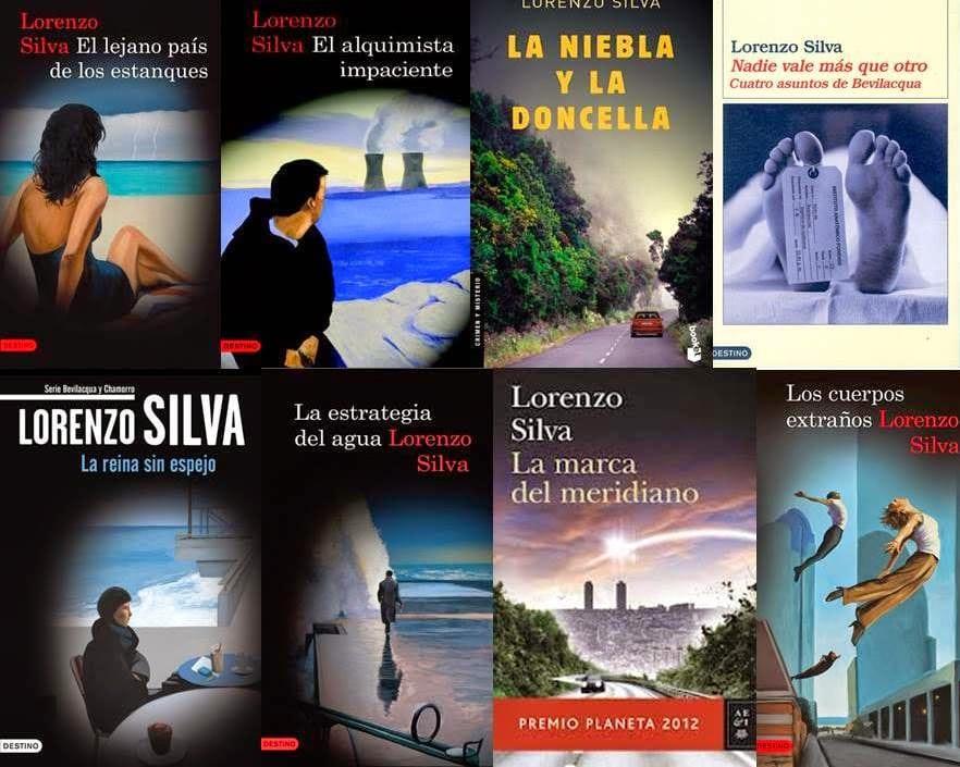 Lorenzo Silva: libros destacados.