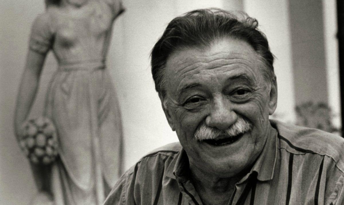 El poeta Mario Benedetti.