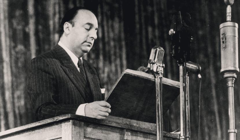Poeta Pablo Neruda.