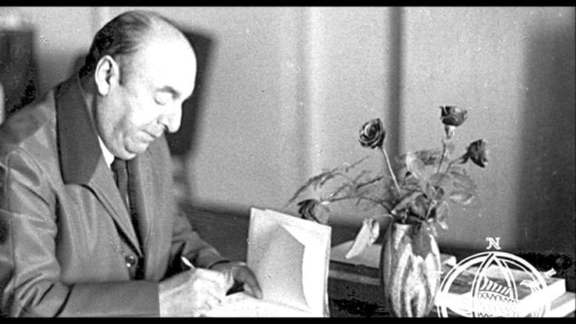 Escritor Pablo Neruda.