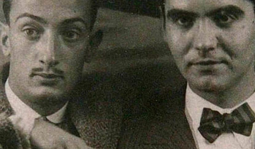Salvador Dalí y Federico García Lorca.