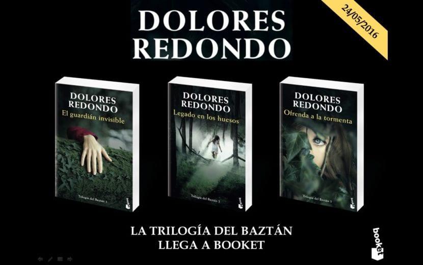 Dolores Redondo, libros destacados, la Trilogía de Baztán.