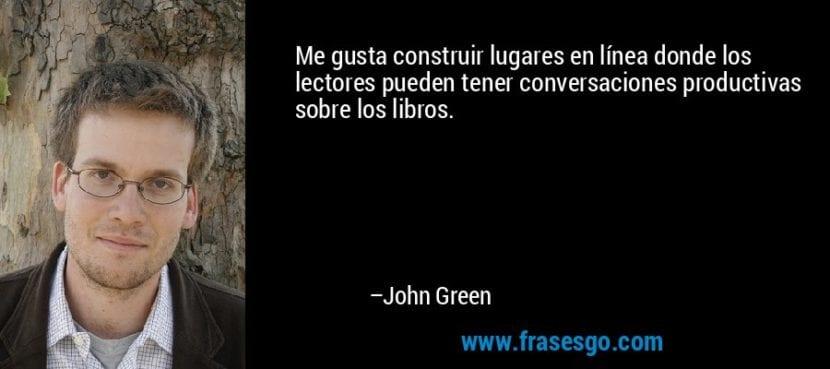 Frase de Jhon Green - Frasesgo.com.