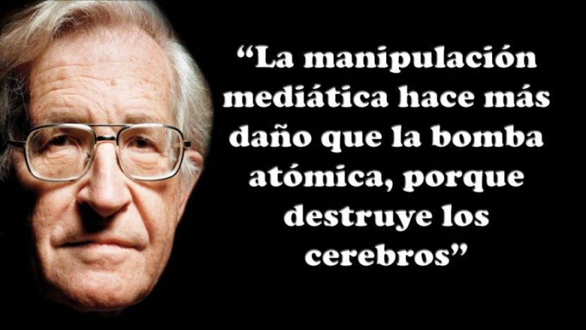 Frase de Noam Chomsky.