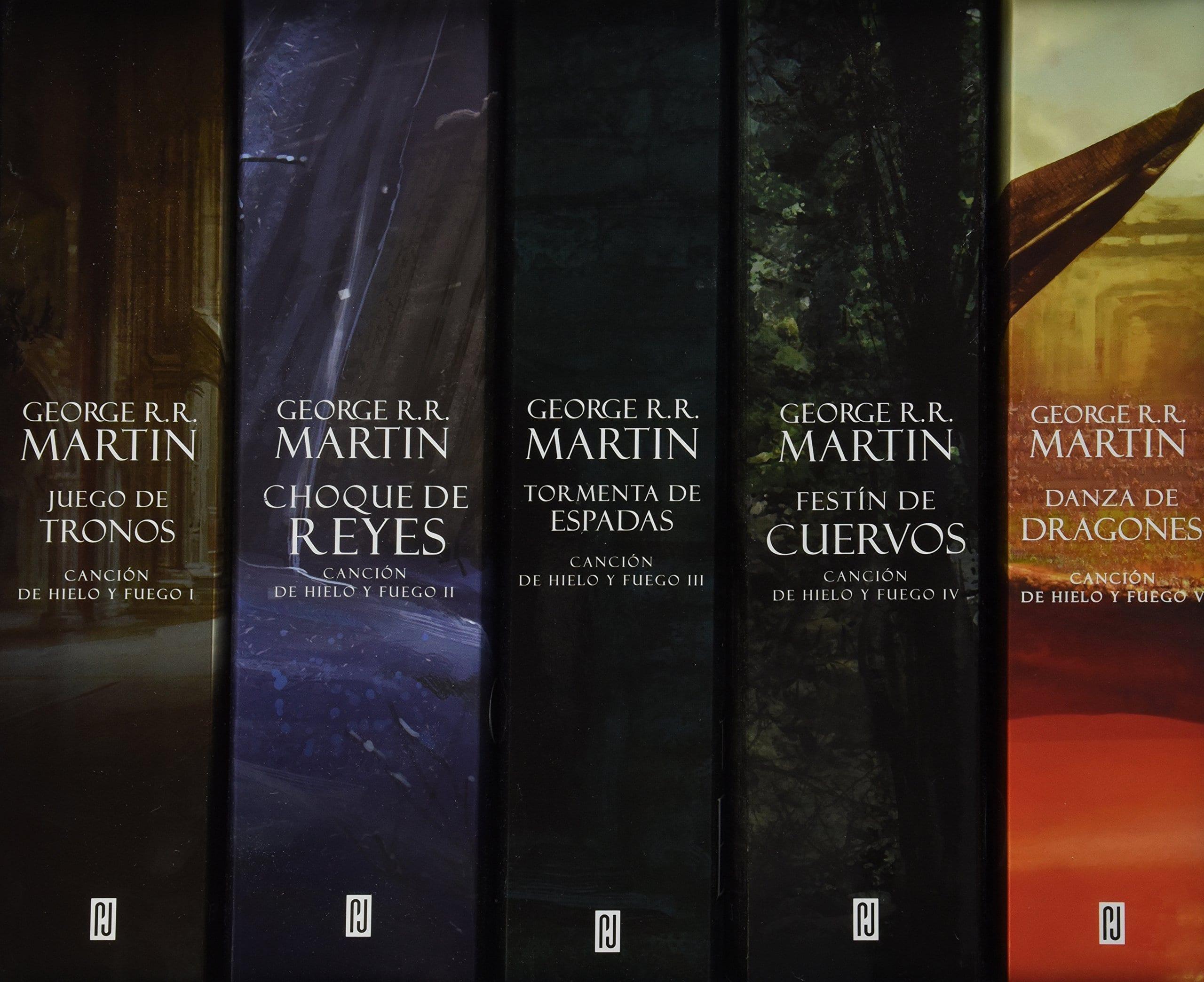 Libros de Juego de Tronos.