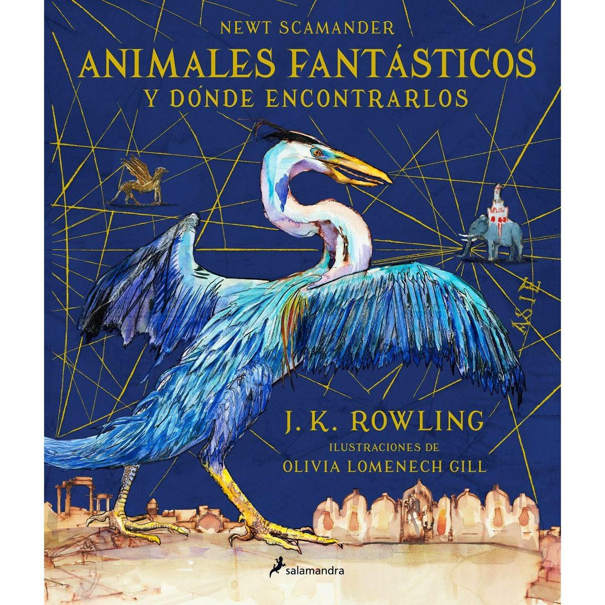 Animales fantásticos y donde encontrarlos.