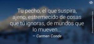 Poema de Carmen Conde.