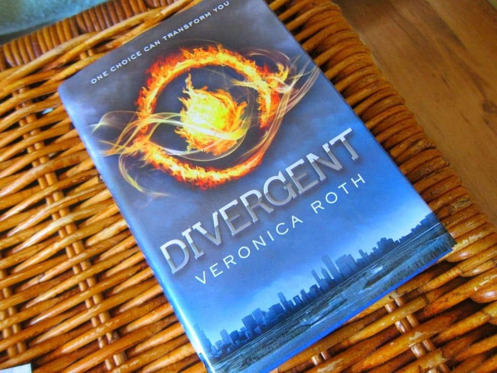 Libro de Divergente.