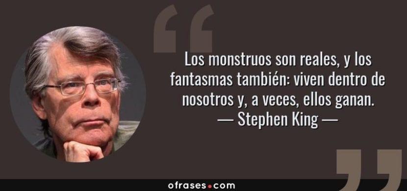 Frase de Stephen King.