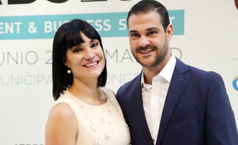 Irene Villa y su ex esposo.