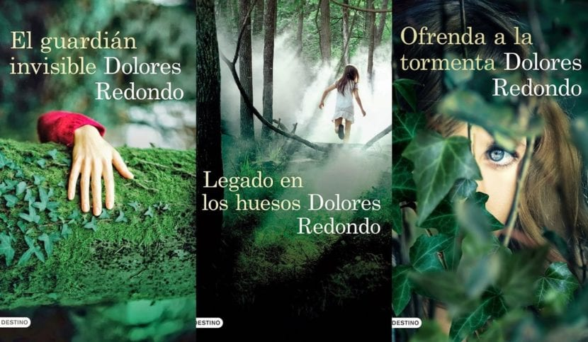 Libros de la Trilogía de Baztán.