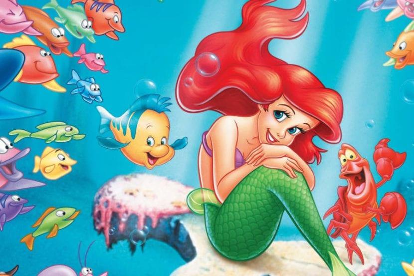 Imagen de La Sirenita de Disney.