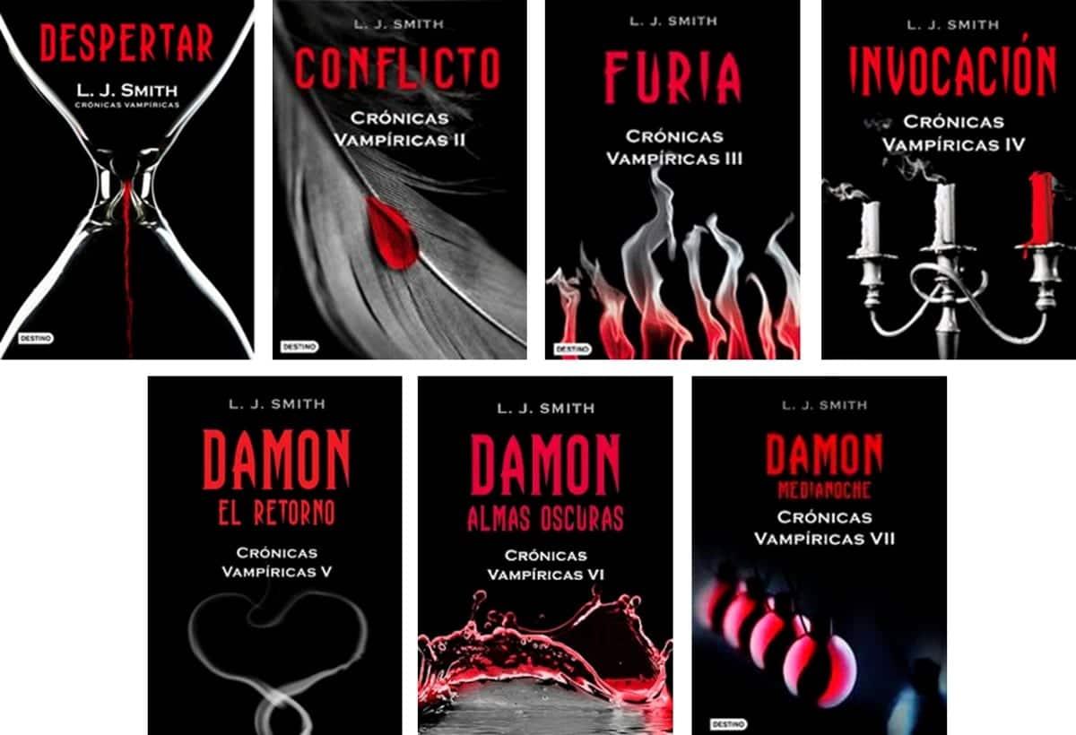 Libros de Crónicas Vampíricas.