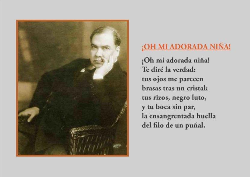 Uno de los poemas de Rubén Darío