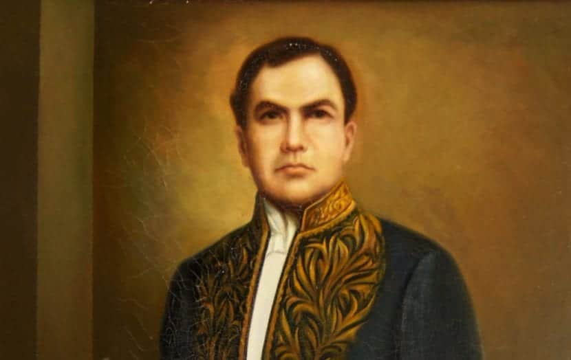 Retrato de Rubén Darío.