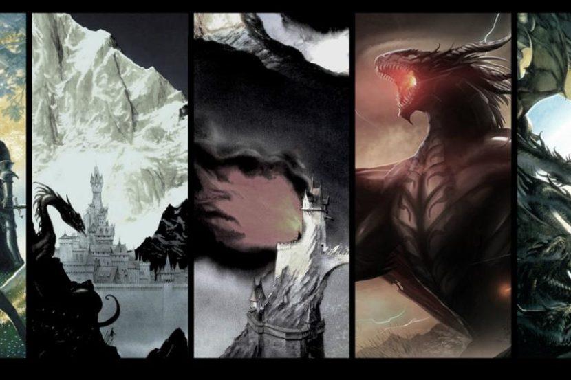 Arte relacionado con El Silmarillion.