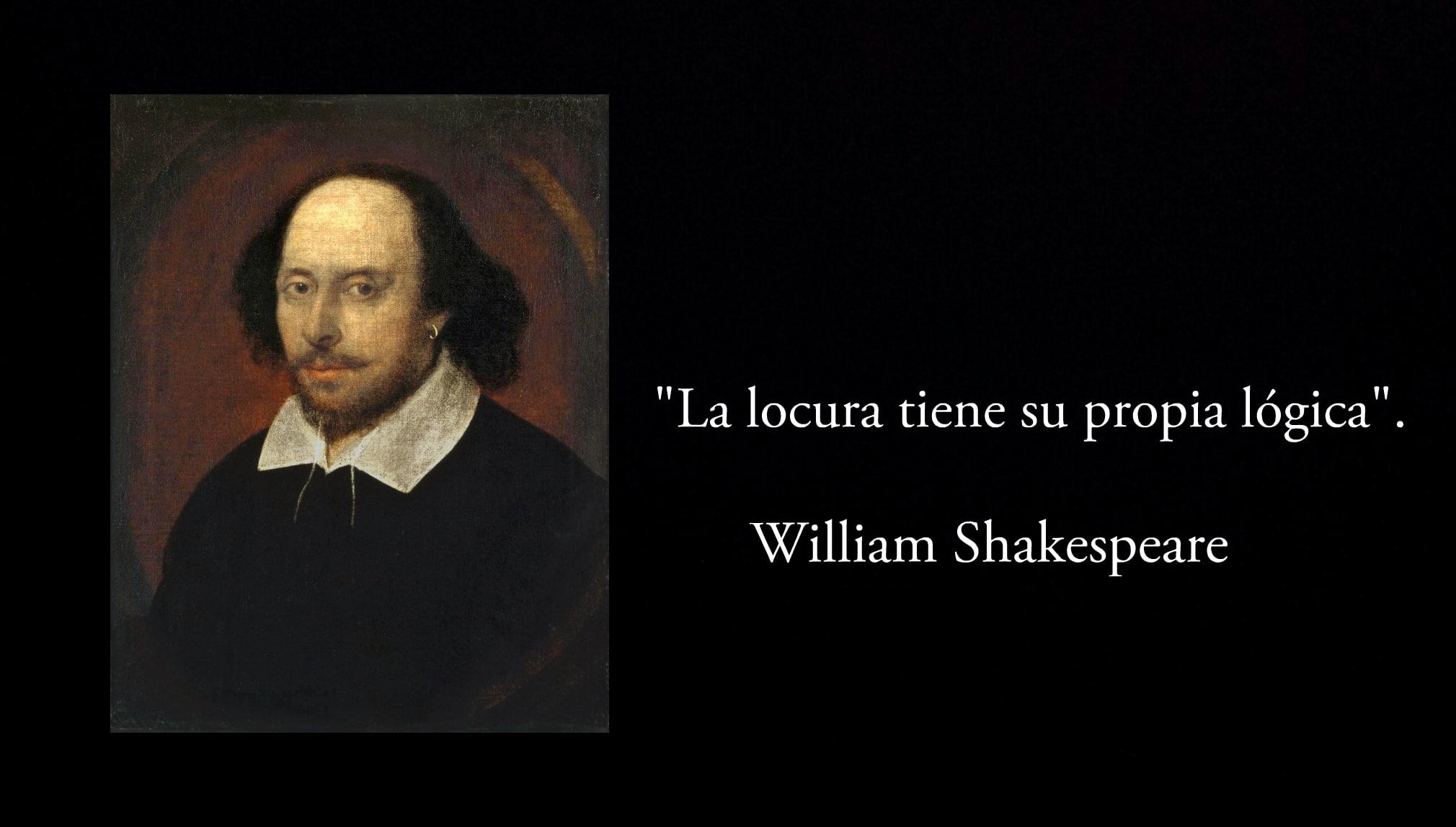 Frase de Shakespeare.