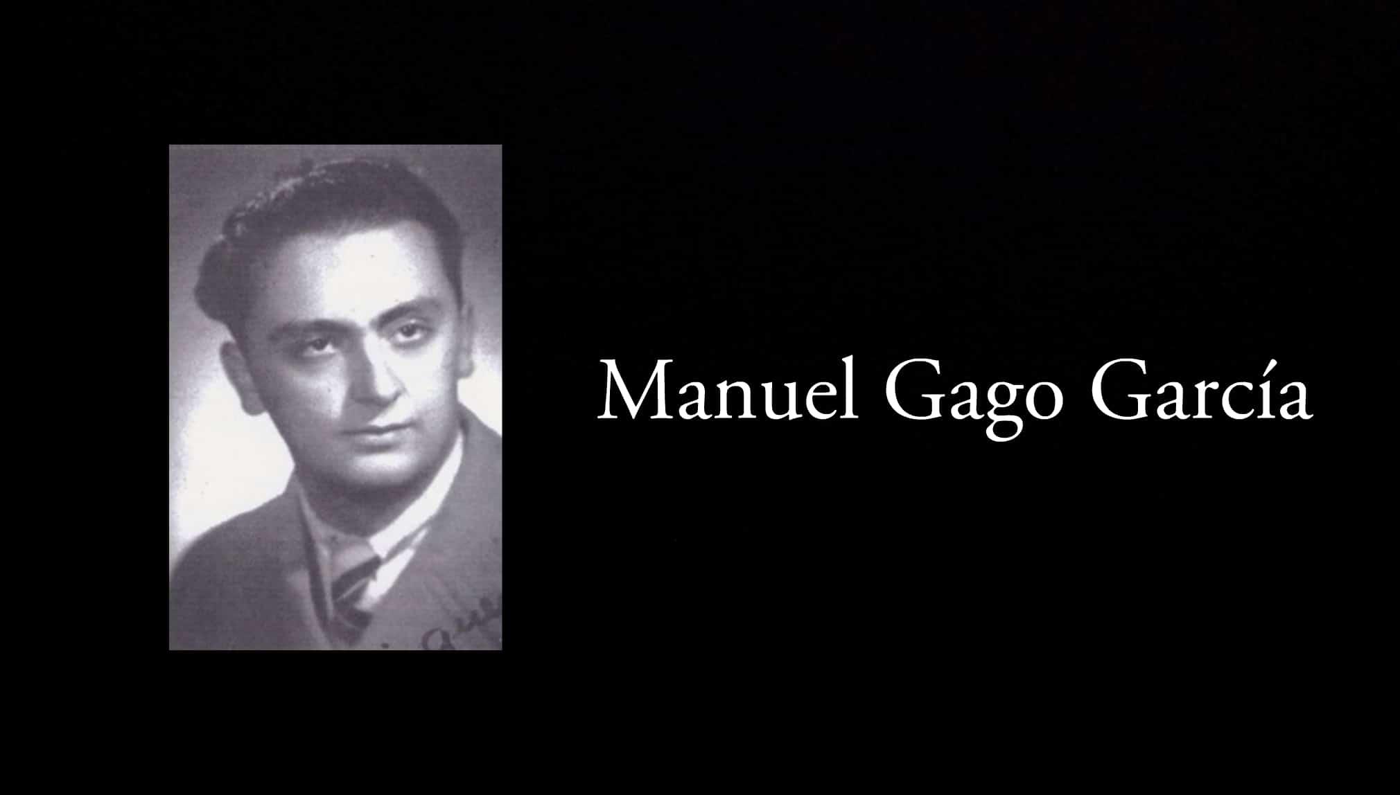 Manuel Gago García.