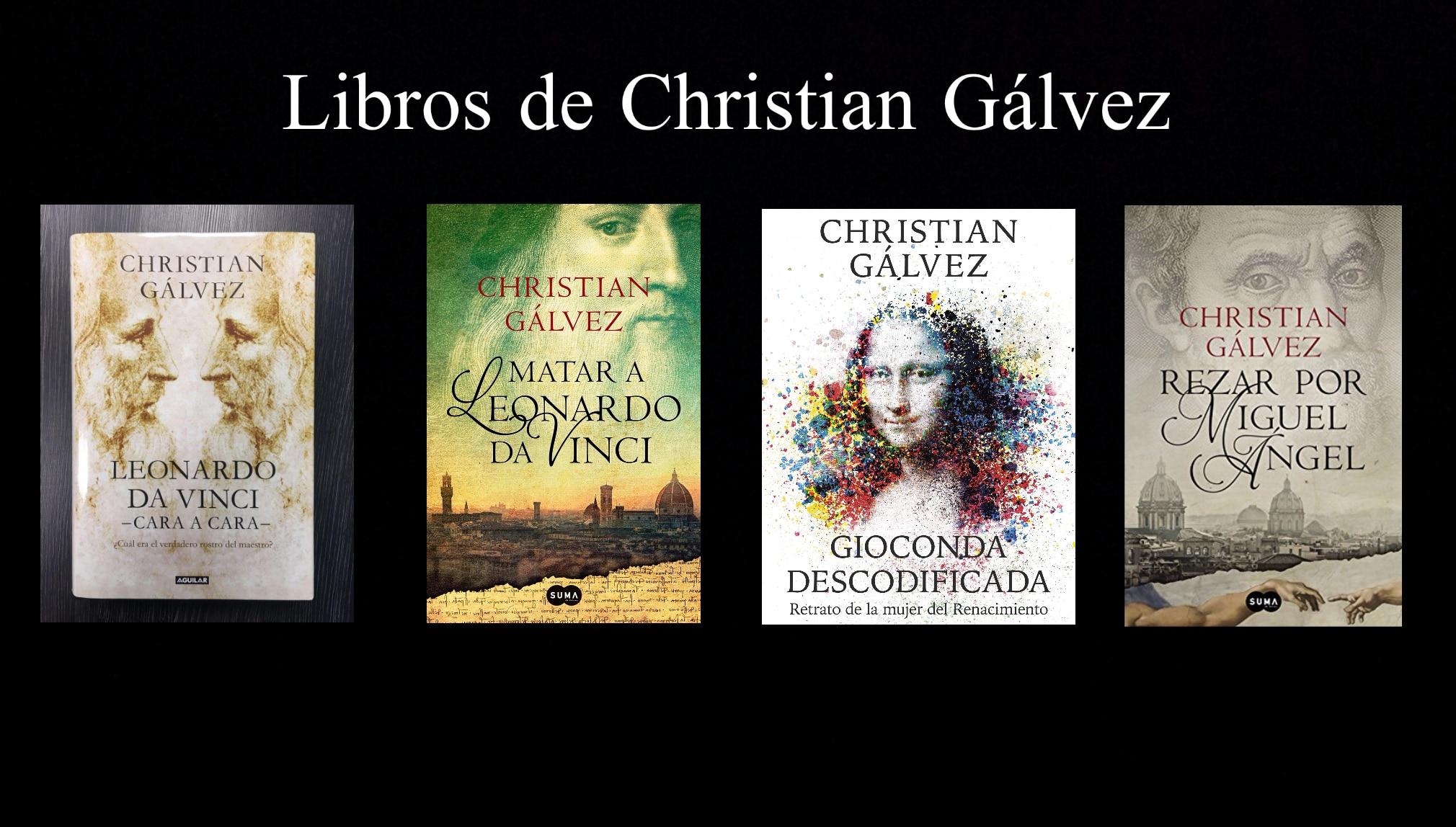 Libros de Christian Gálvez.
