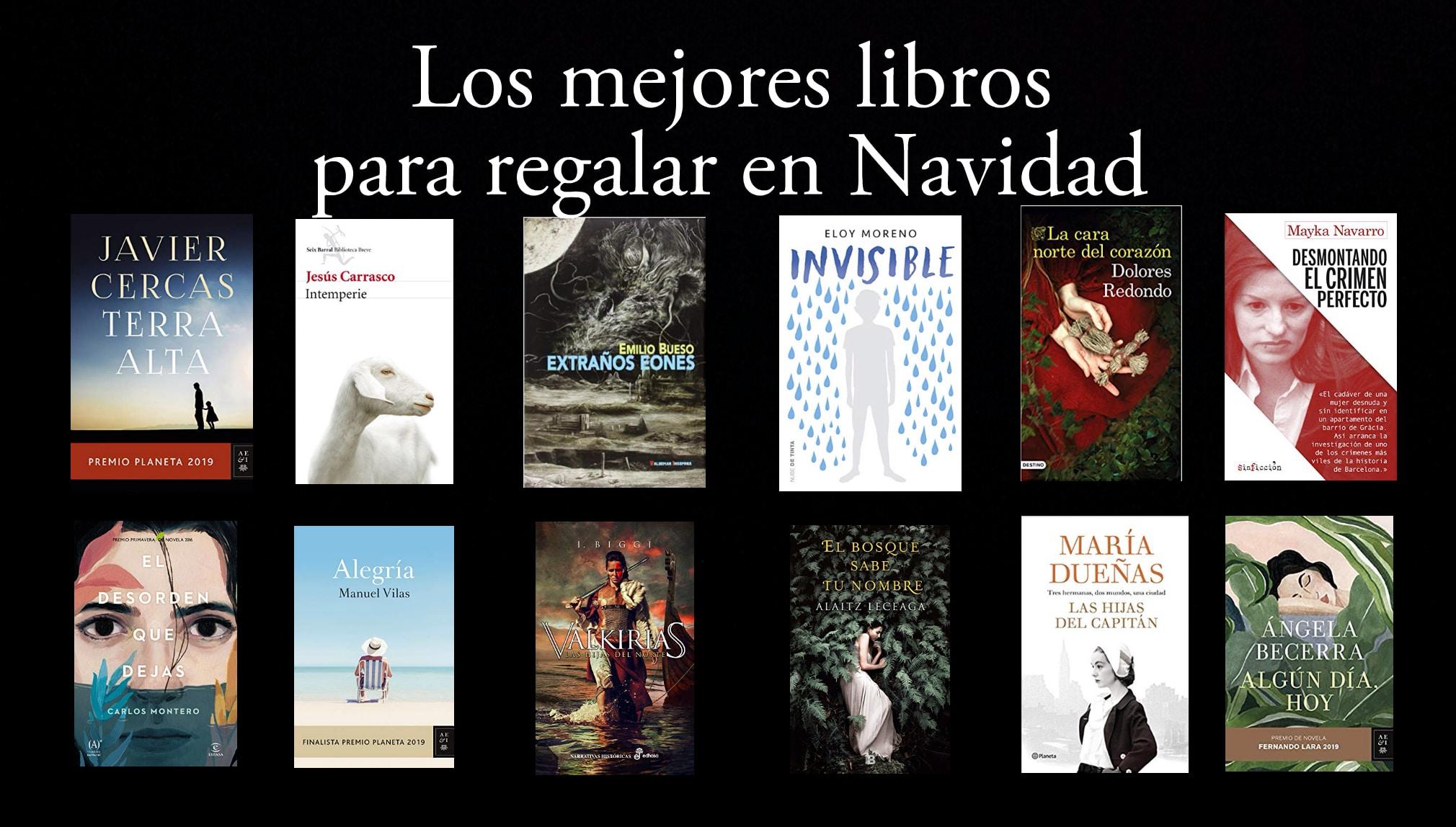 Los mejores libros para regalar en Navidad.